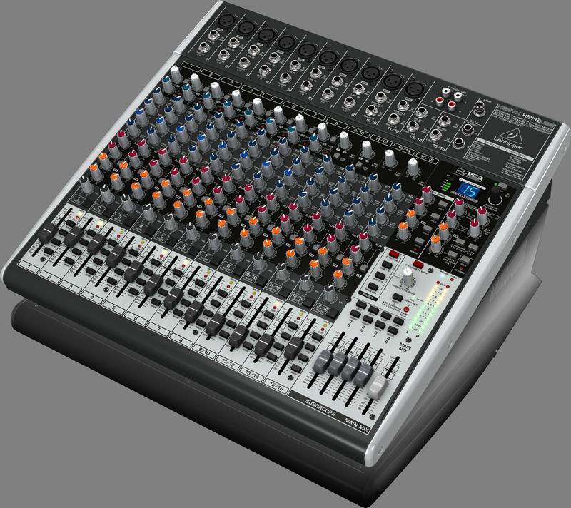 Behringer XENYX X2442USB - 24-Input USB Audio Mixer