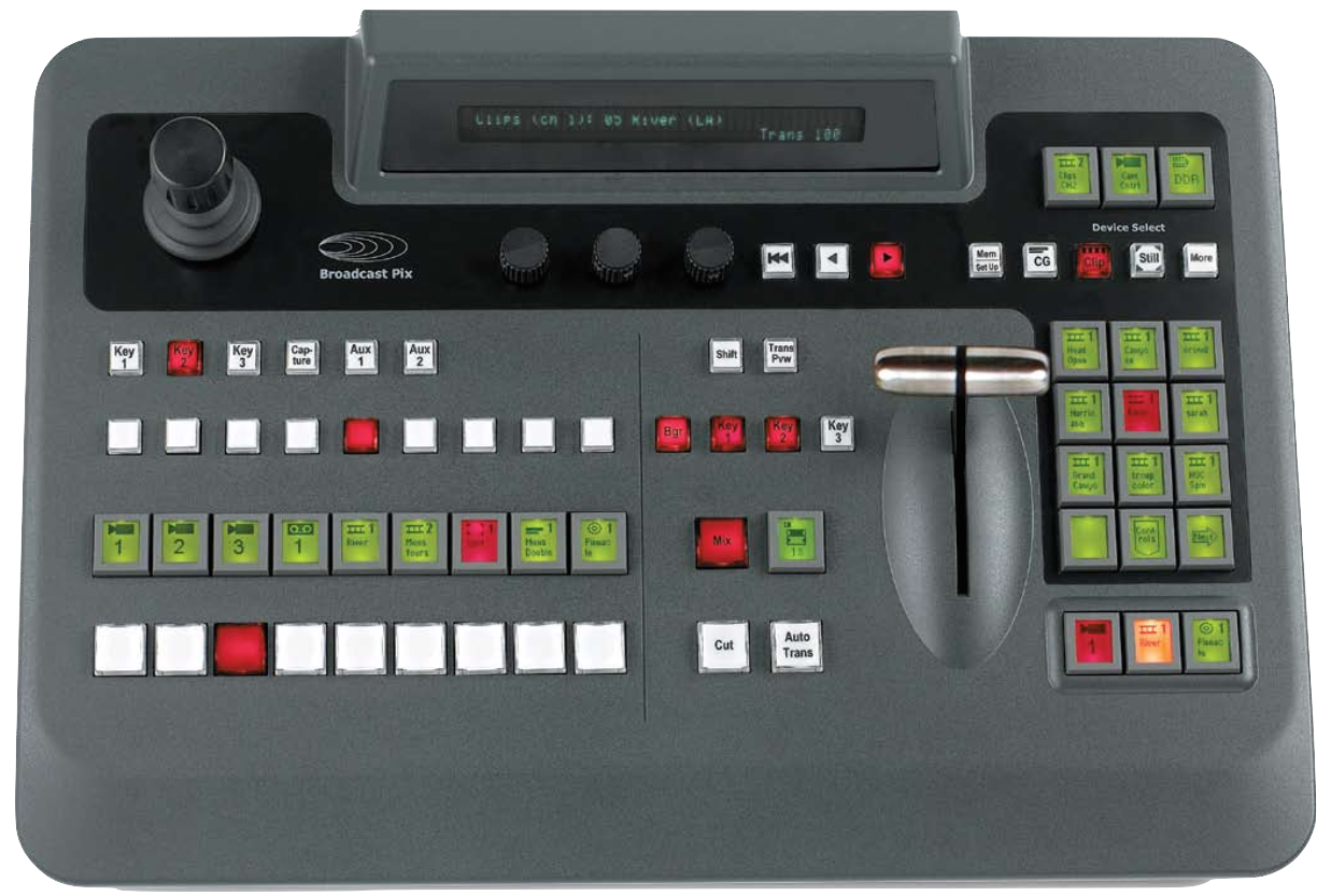Broadcast Pix Slate 1000 G Series Video Switcher