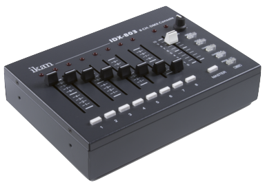 ikan IDX803 8-channel DMX Studio Light Control Box
