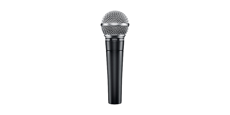 Shure SM58 Dynamic Vocal Microphone