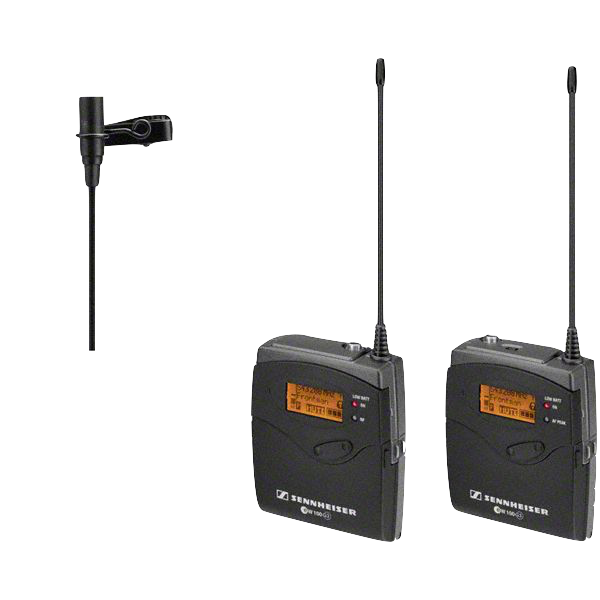 Sennheiser ew 100 ENG G3 Wireless Microphone, Transmitter, Receiver - A (516-558MHz) Sets