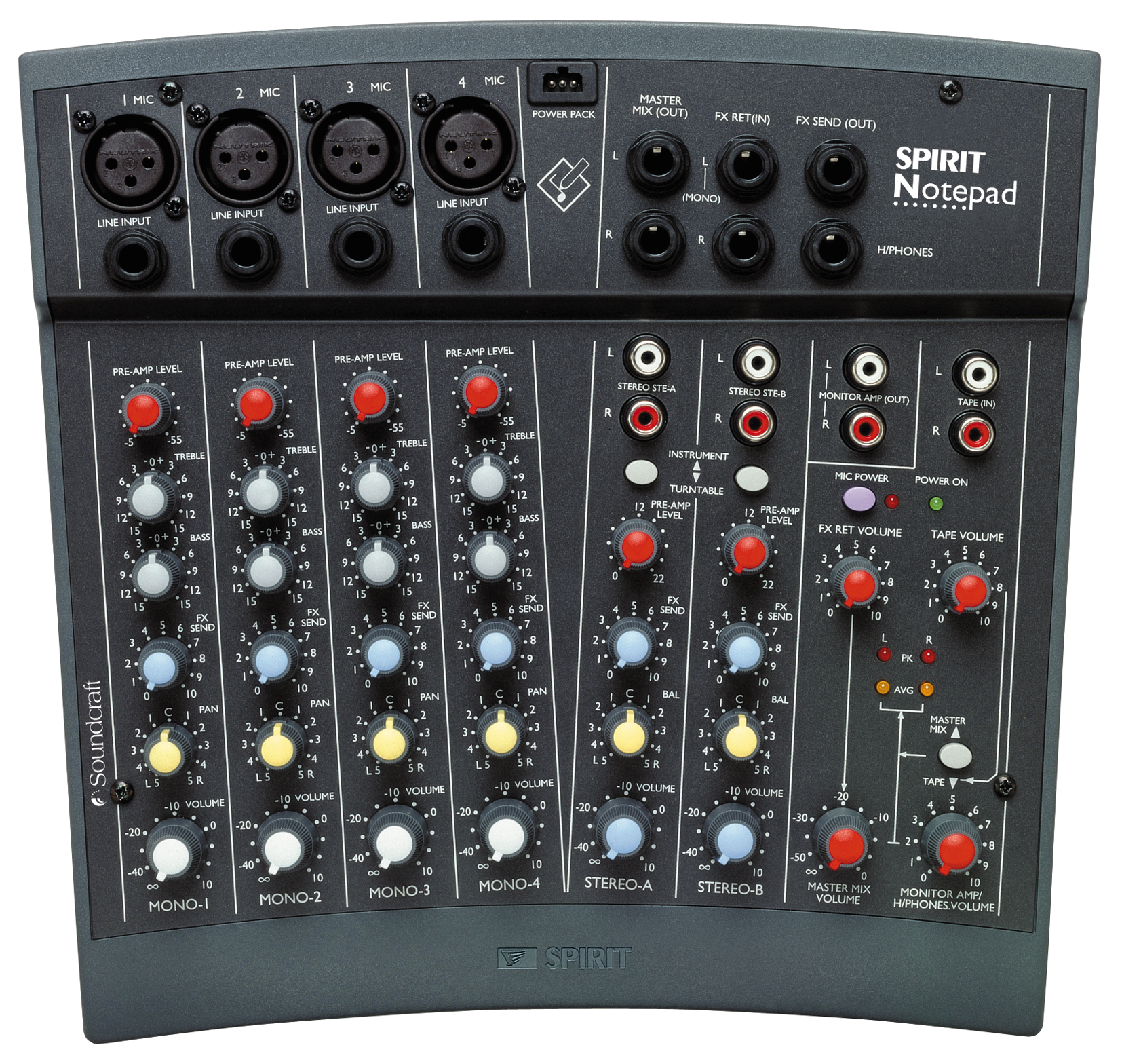 Soundcraft Spirit Notepad Audio Mixer
